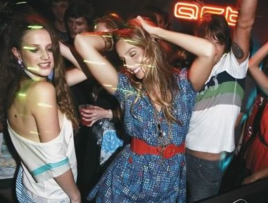 meninas balada festa