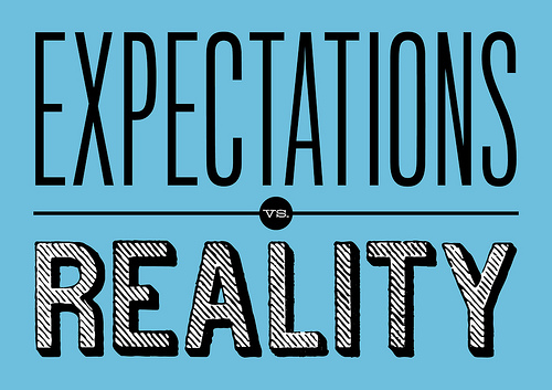 Expectativa Vs. Realidade