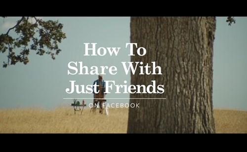 compartilhar posts com amigos no facebook