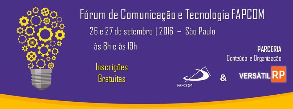 Fórum de Comunicação da FAPCOM