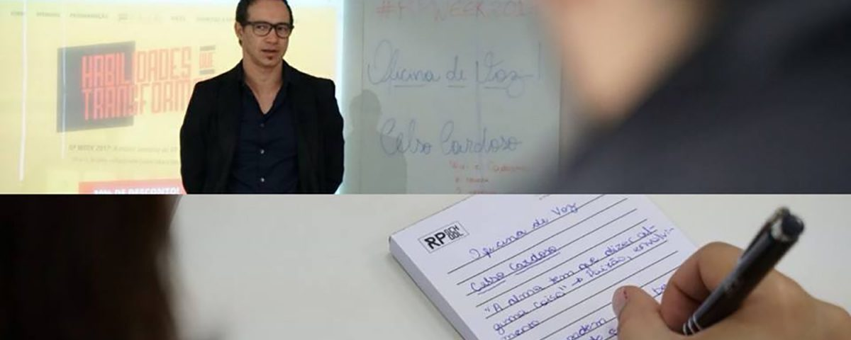 Oficina da voz - Celso Cardoso